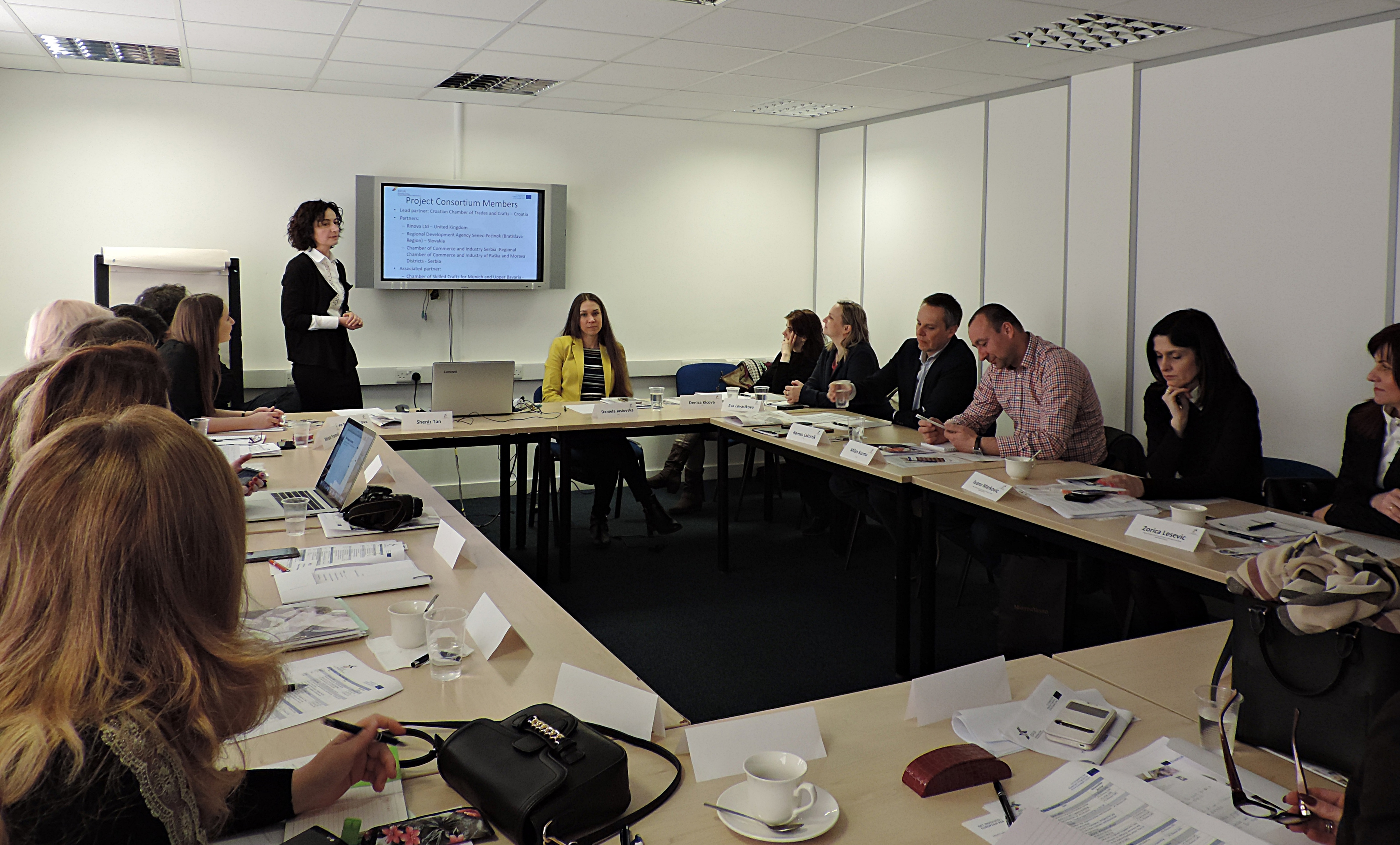 Capacity Building Study Visit and 2nd Partners' Meeting in London