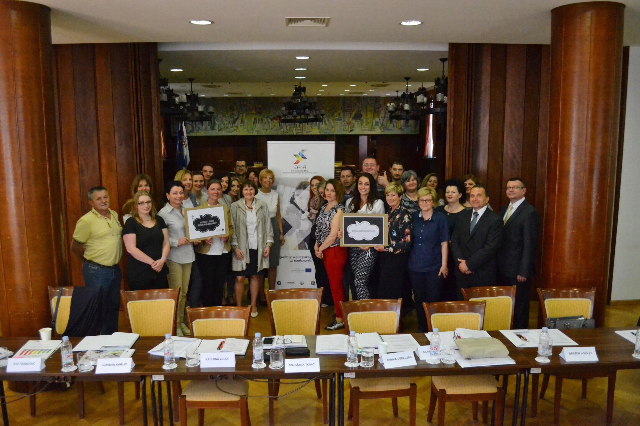 Advocacy training workshop held in Croatia