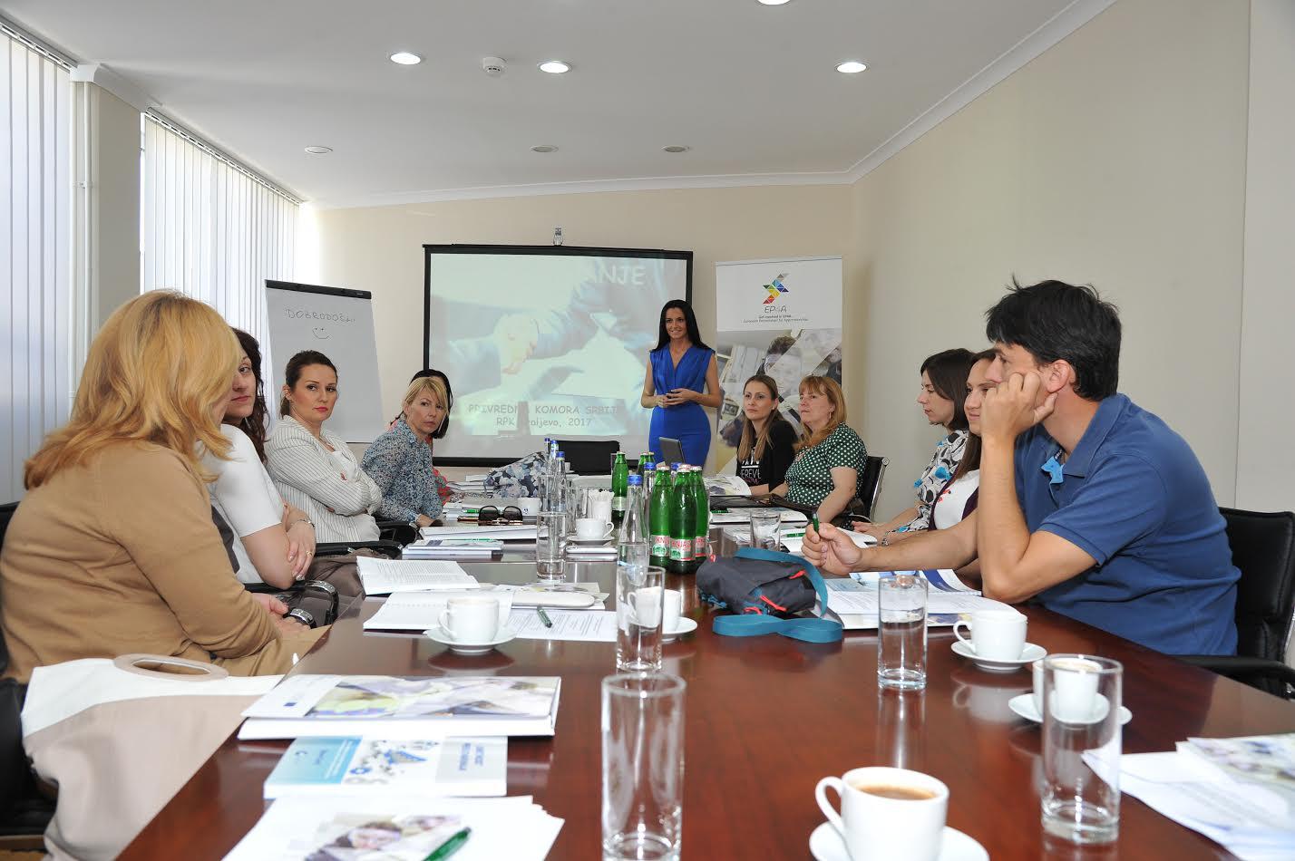 Advocacy training workshop held in Serbia