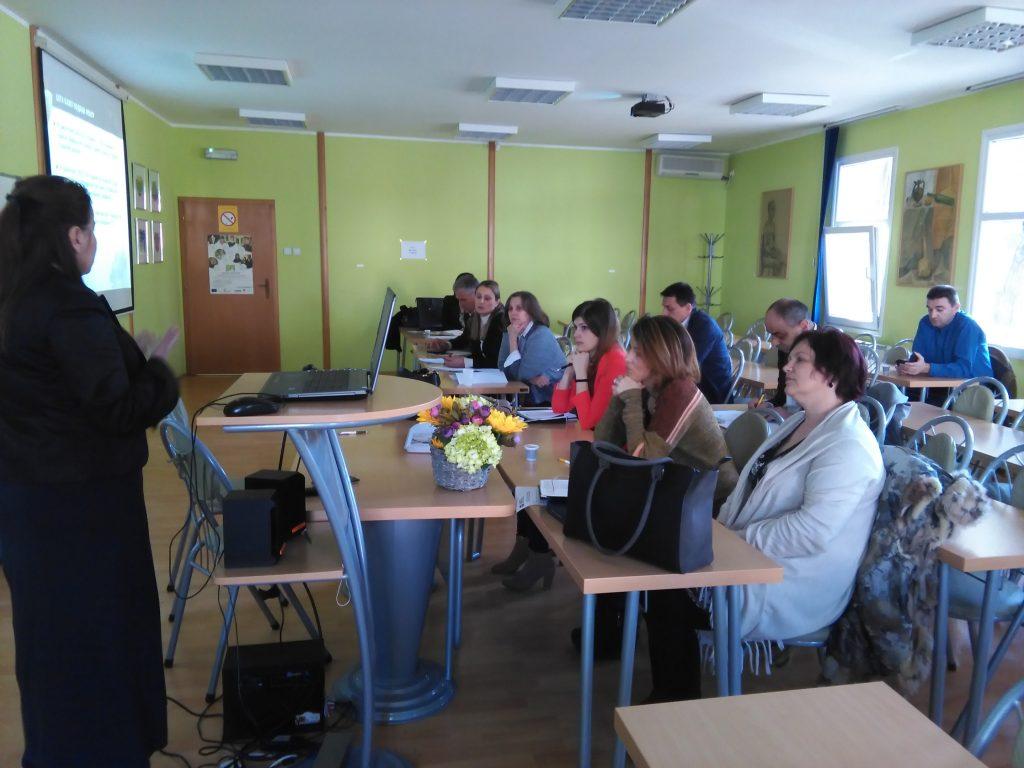 Focus group meeting held in Serbia