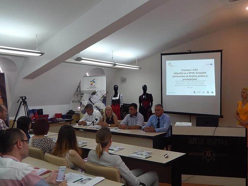 Uspostavljanje partnerstva u oblasti dualnog obrazovanja u Srbiji