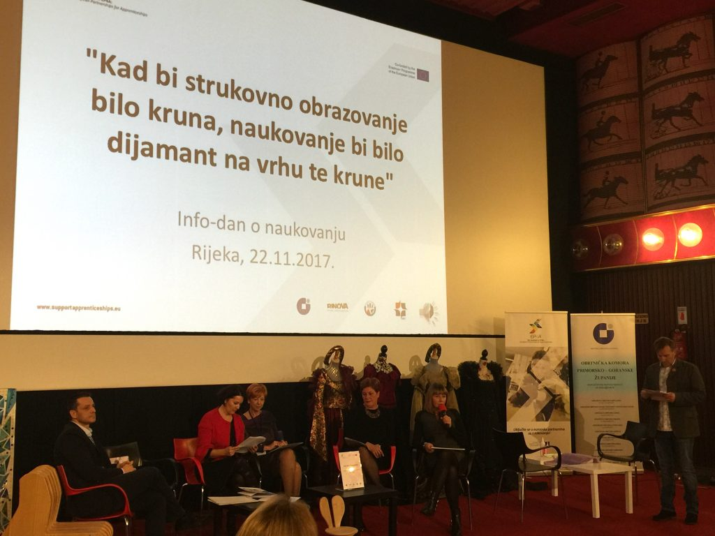 Open information day on apprenticeship in Rijeka attracts interested craftsmen, tradesmen and SMEs