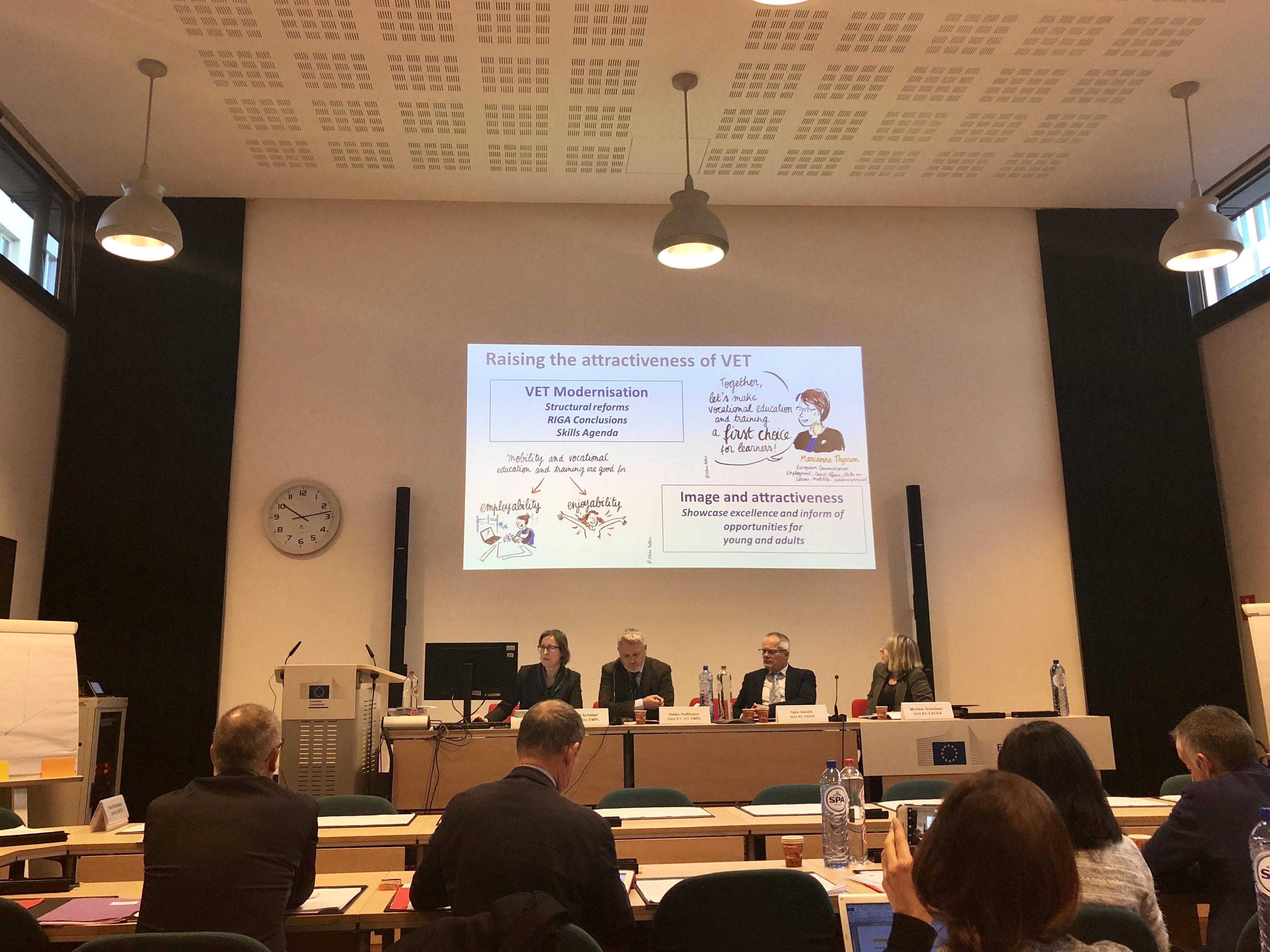 Monitoring meeting held in Brussels