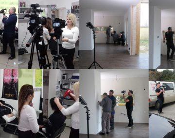 Filming apprenticeship ambassadors in Croatia