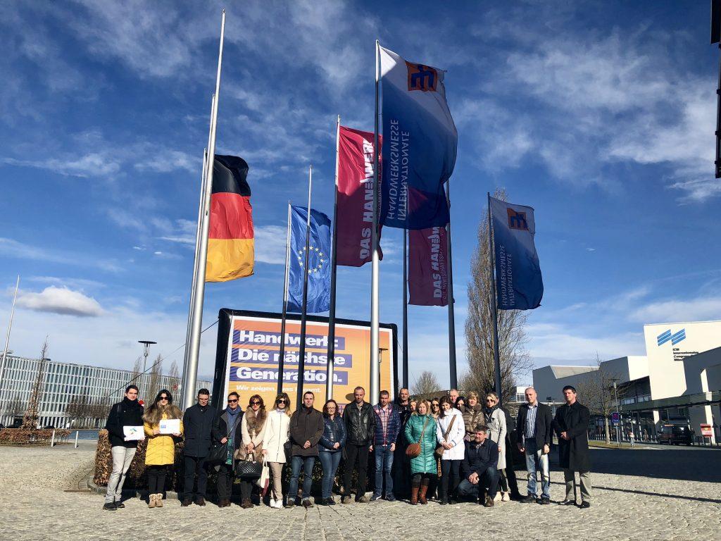 Organizоvana je studijska poseta Minhenu – nemački poslodavci kao primer dobre prakse u dualnom obrazovanju
