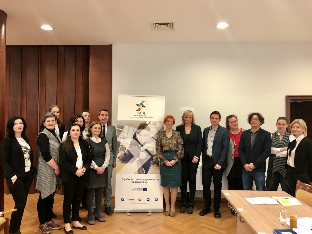 The first Apprenticeship Partnership meeting held in Croatia